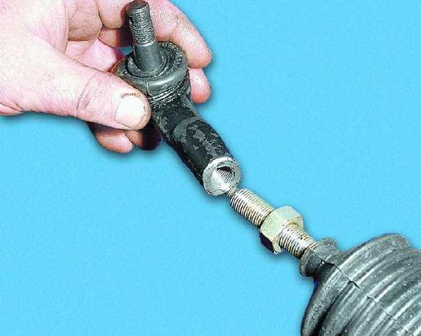 Как восстановить рулевые наконечники
