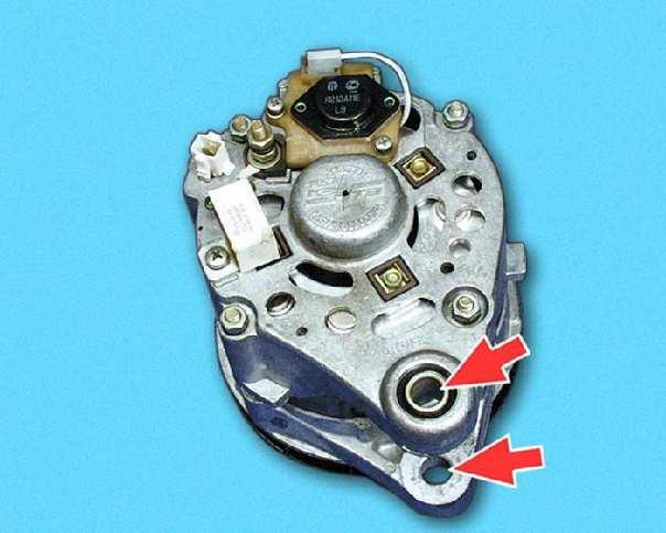 Ваз 2109 ремонт генератора